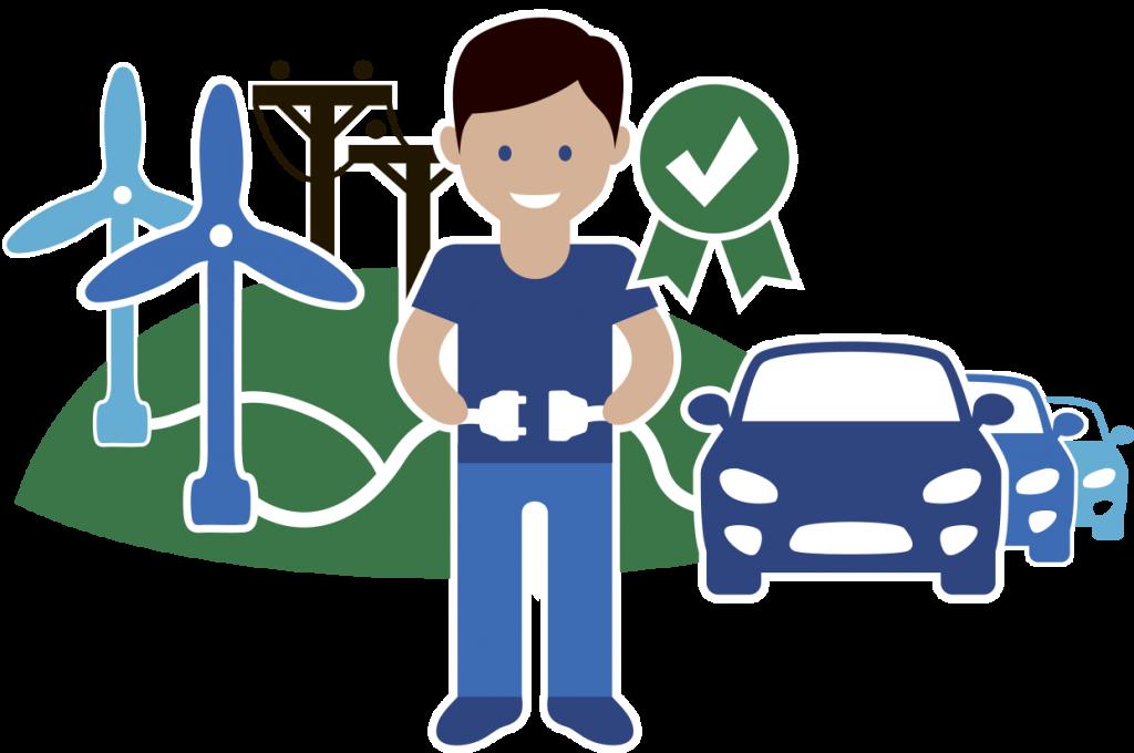 Интеграция электромобилей в энергосистему на основе ВИЭ